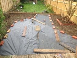 Preparing for gravel